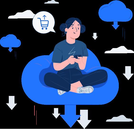 e commerce sell services - Wbcom Designs