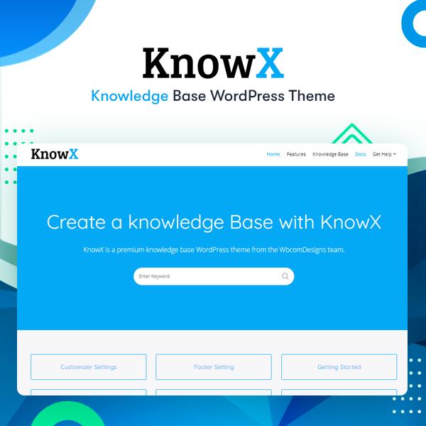 know - Wbcom Designs