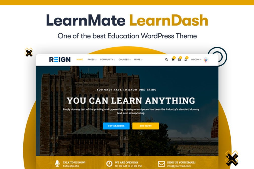 LearnDash WordPress Theme