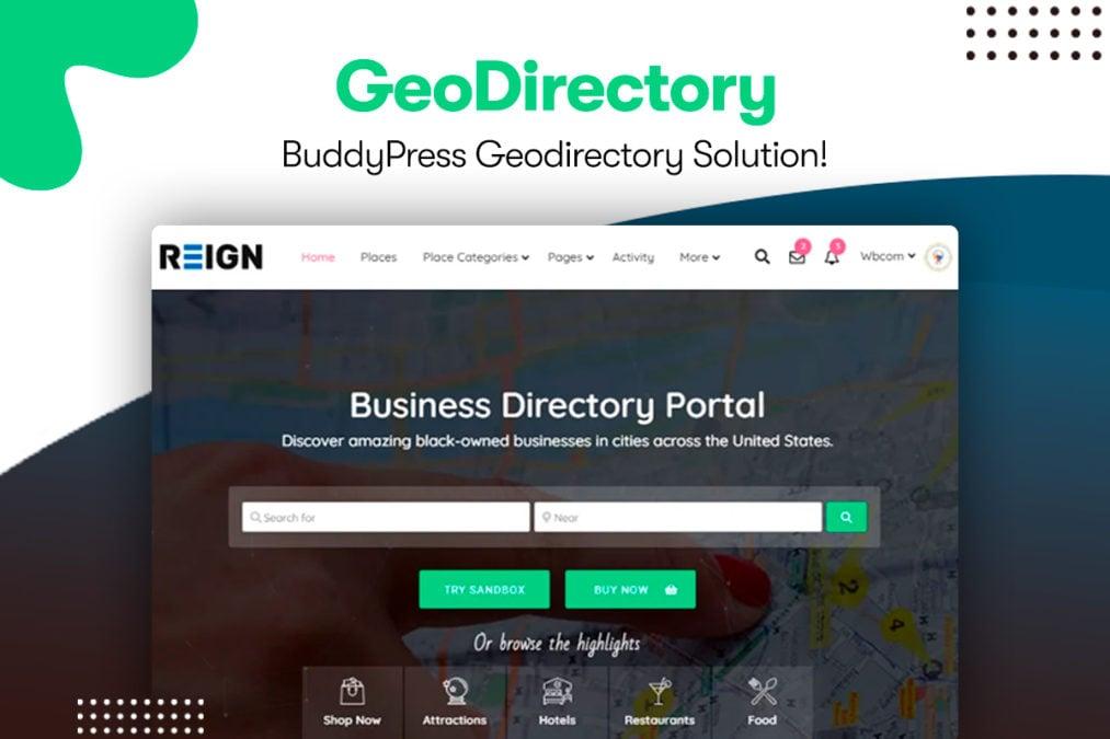 reign geodirectory 1 - Wbcom Designs