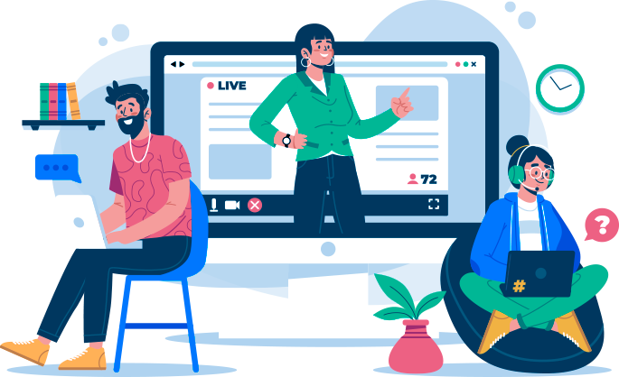 online learning community