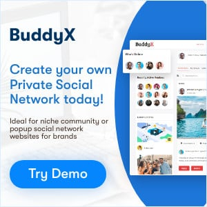 BuddyX theme free