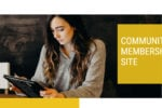 Community Membership Site