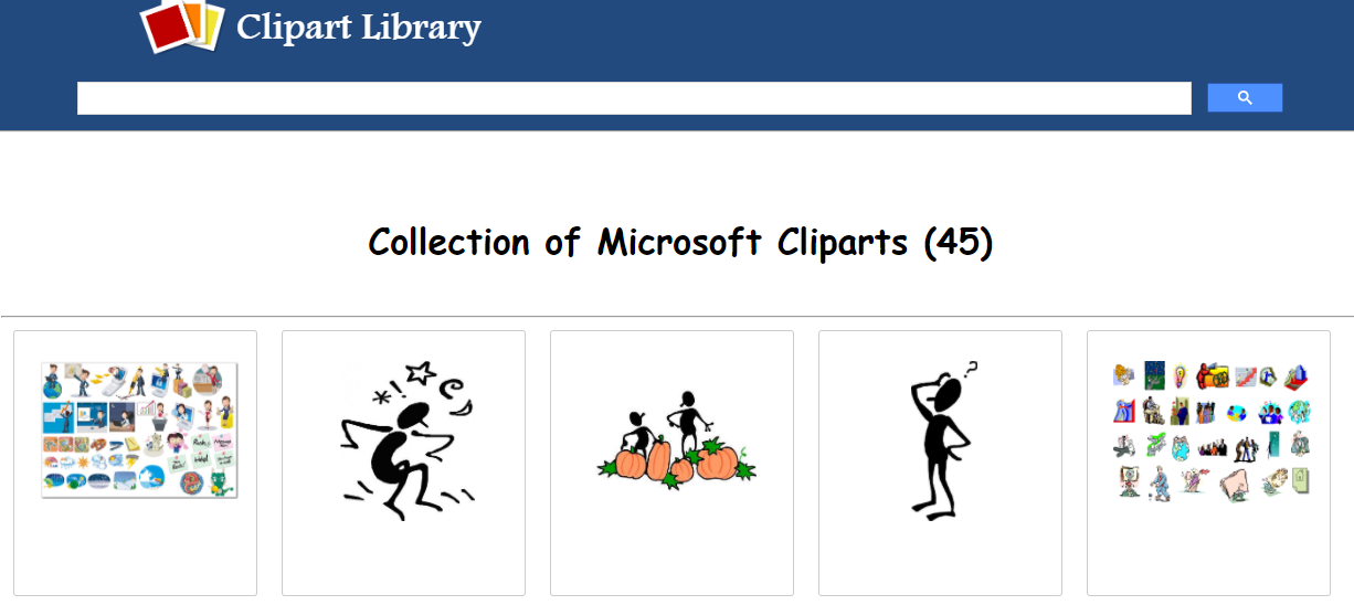 Microsoft Clipart Library