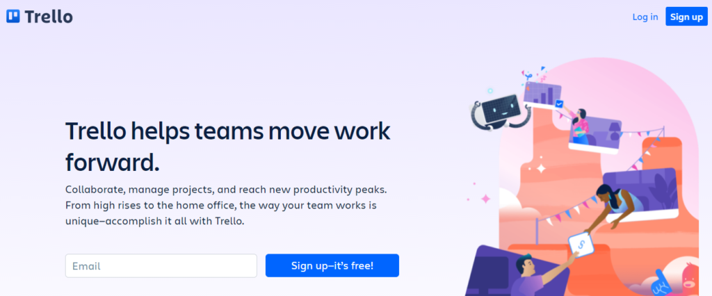 Trello - Project Management SaaS Tool