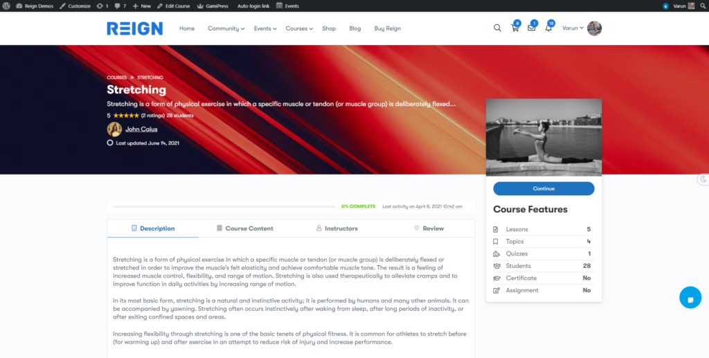 Course Cover image feature for Udemy and Teachable course layout