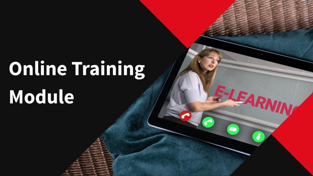 online training module