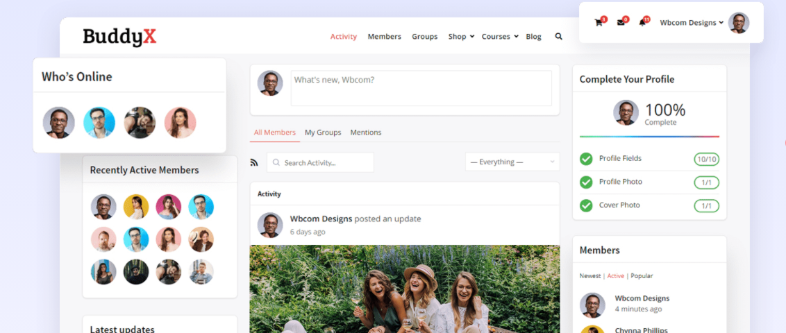 create a dating website