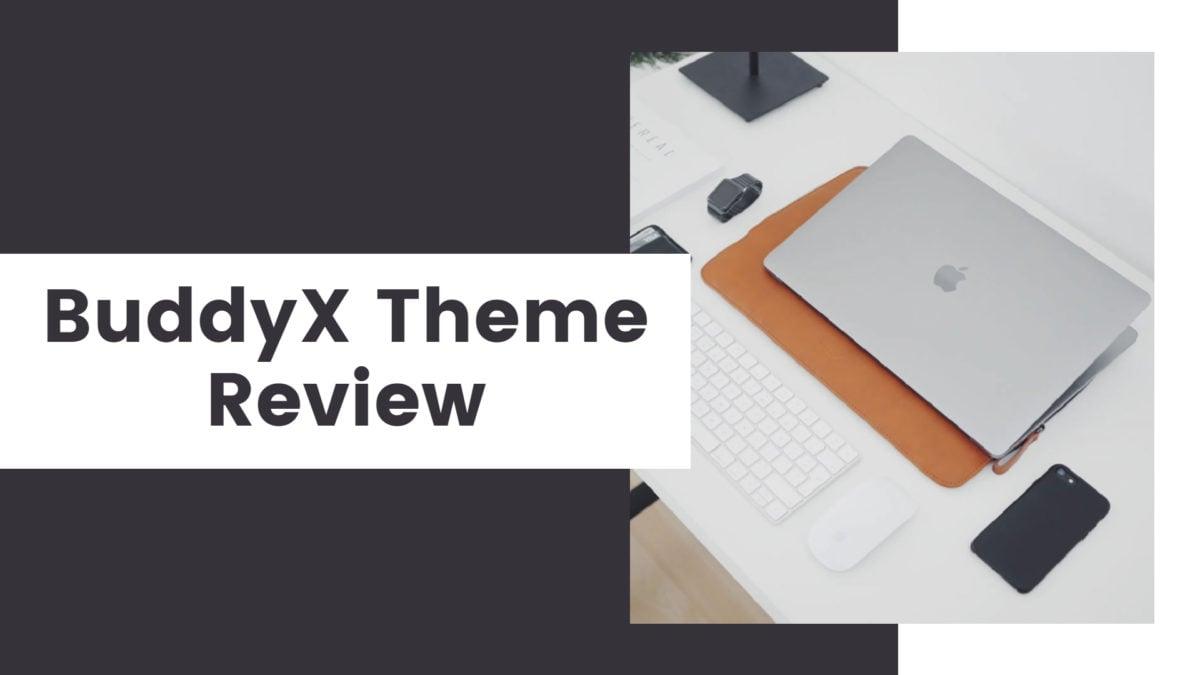 buddyx theme review - Wbcom Designs