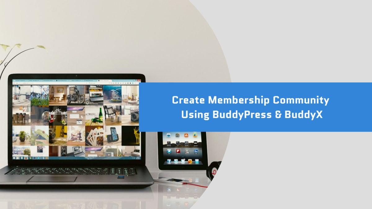 membership community website - Wbcom Designs