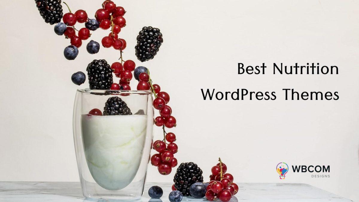 Best Nutrition WordPress Themes