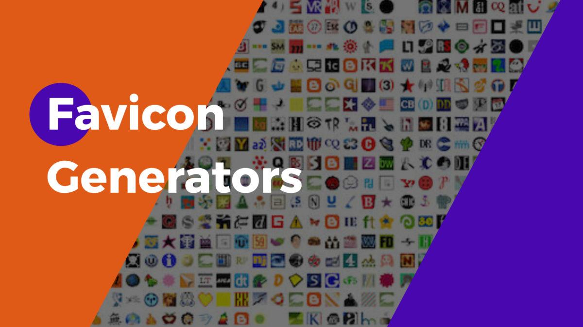 Favicon Generators