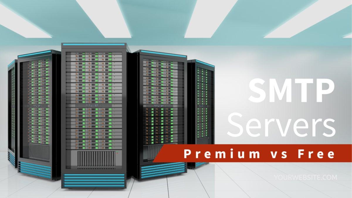 Premium vs Free SMTP Servers