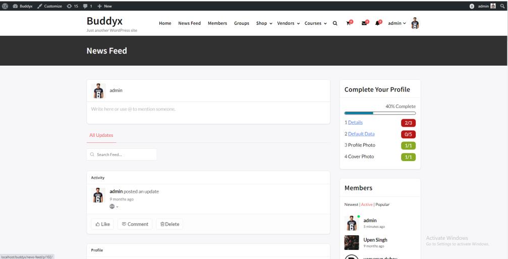 Customize BuddyPress Theme Templates