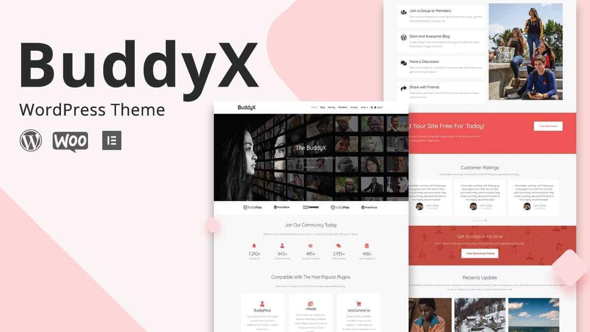 buddyx 04 - Wbcom Designs