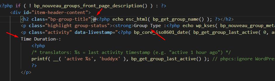 override template files