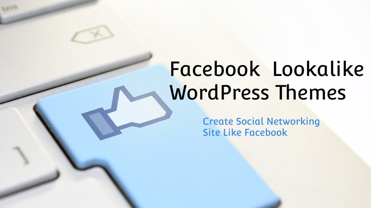 facebook like wordpress themes - Wbcom Designs