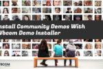 Install Community Demos - Wbcom Designs