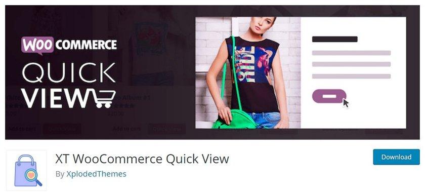 XT WooCommerce Quick View