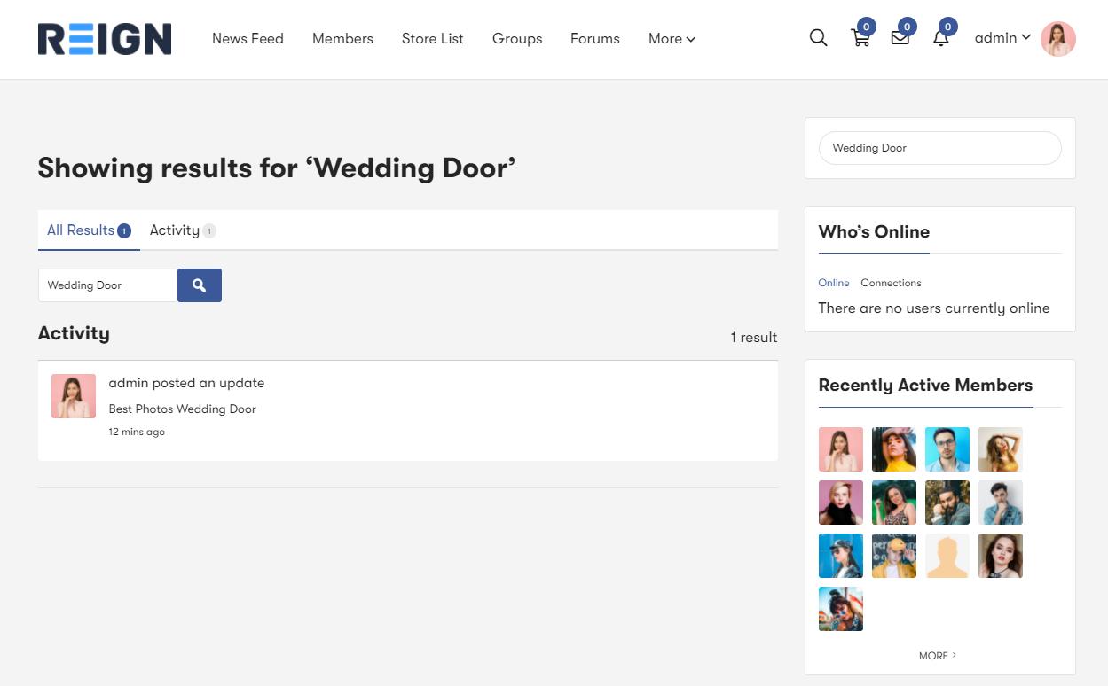 advance BuddyPress Search Plugin