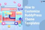 customize buddypress templates - Wbcom Designs