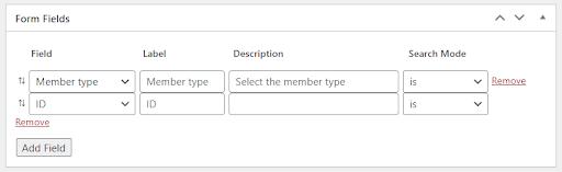 Member Search Using BP Profile Search