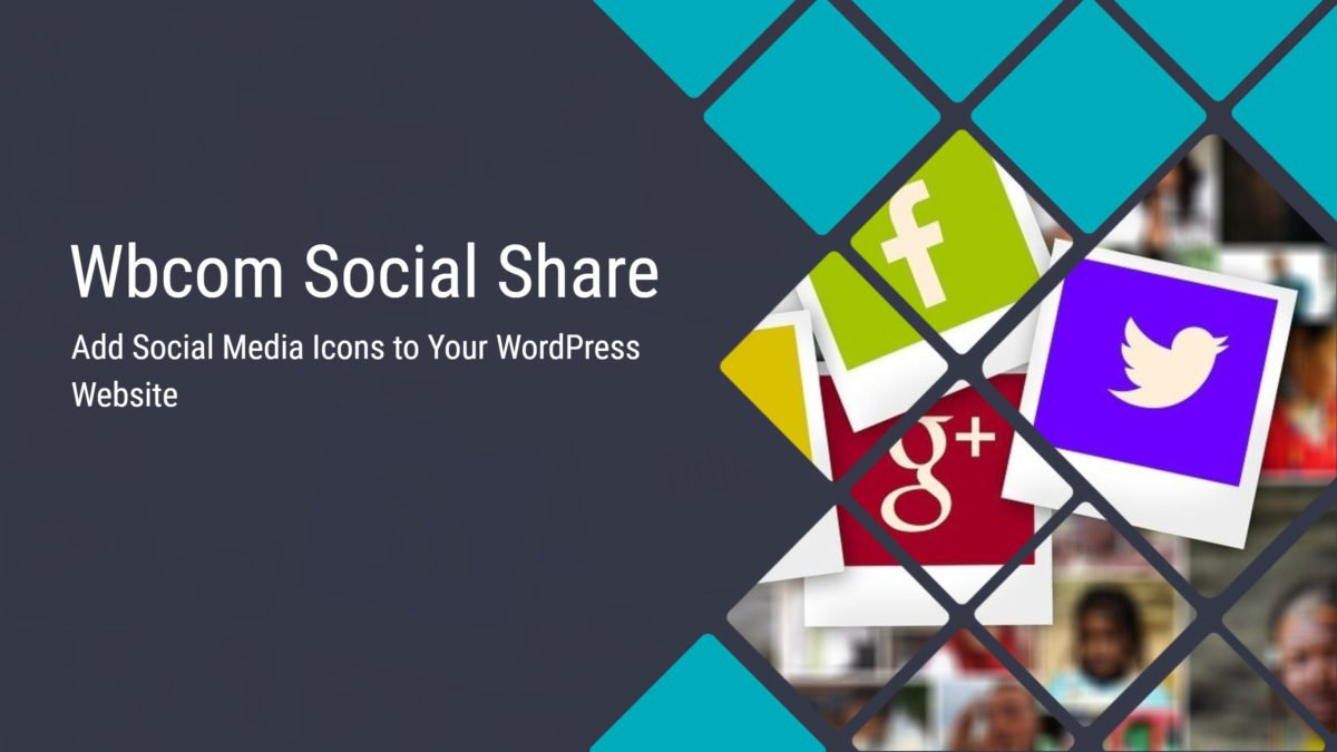 Wbcom Social Share