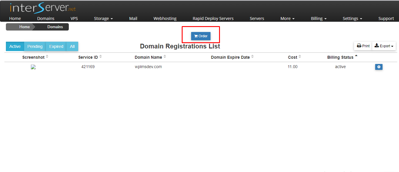 web hosting and register a domain name