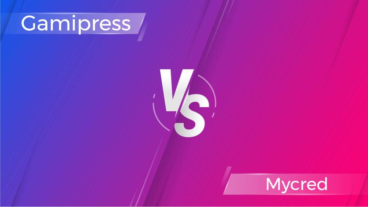 Gamipress vs Mycred