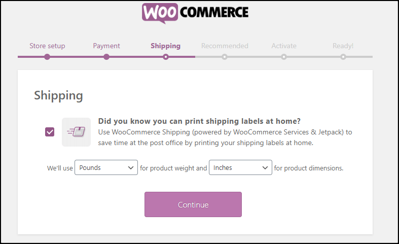 Product Shipping