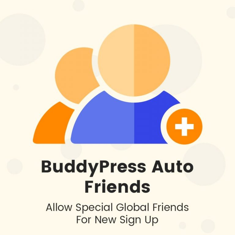 buddypress auto friends