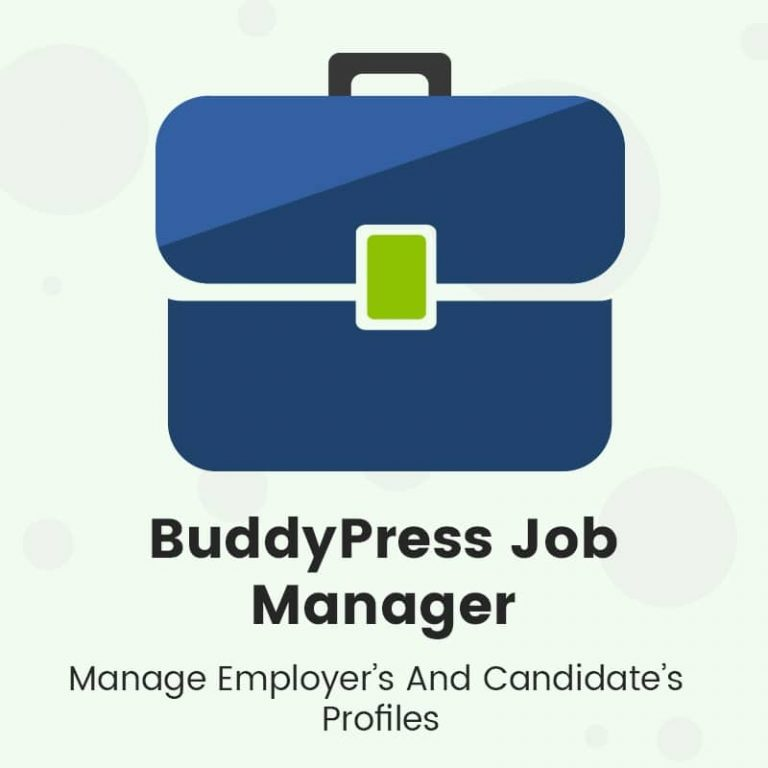 BuddyPress Job Manager