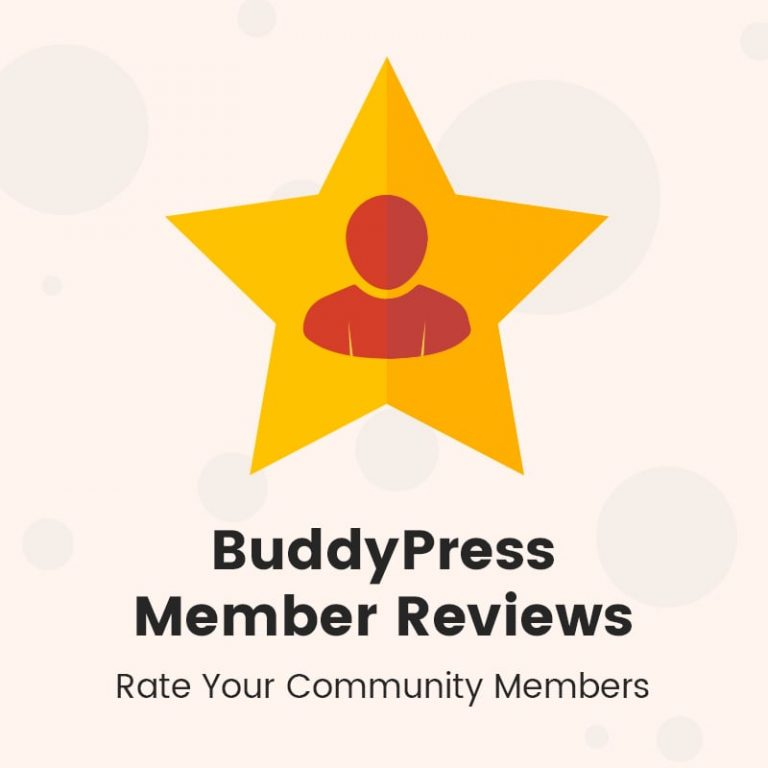 BuddyPress member Review