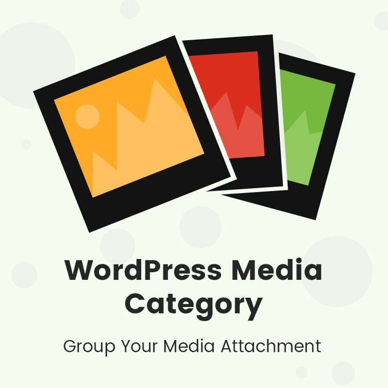 WordPress Media Category