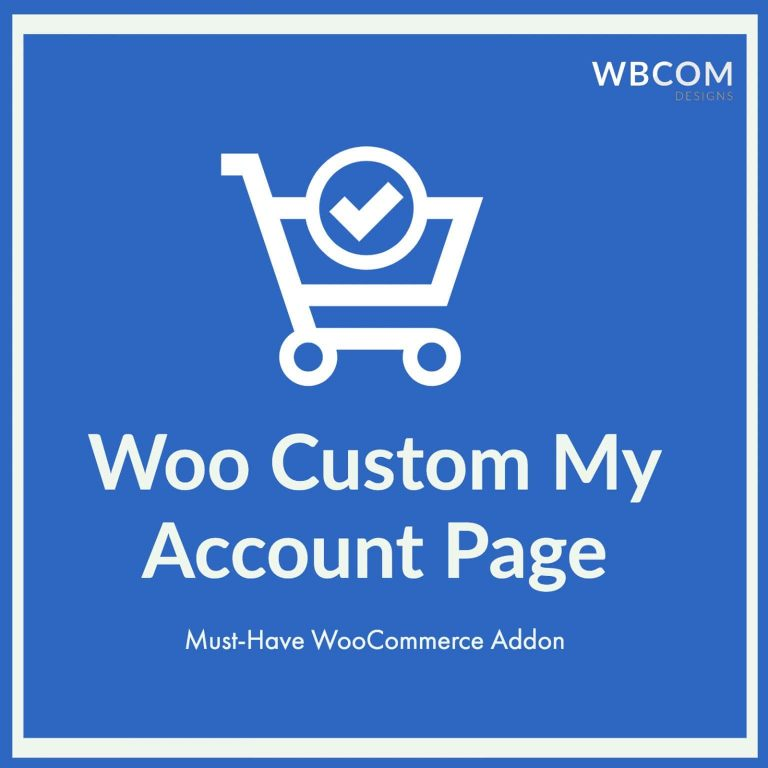 woocommerce custom my account page