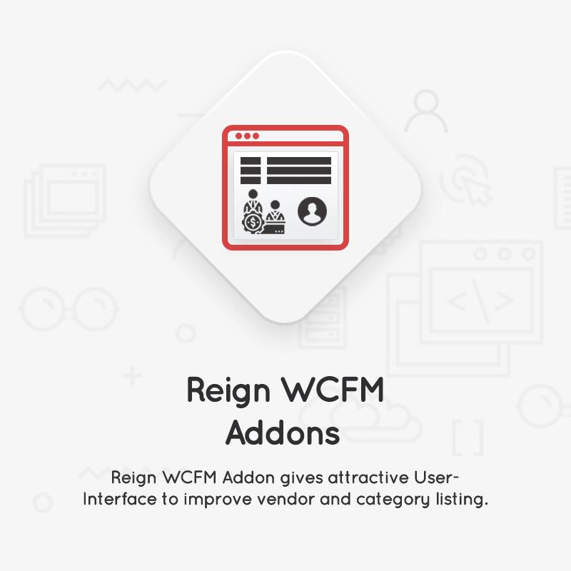 Reign-WCFM-addon