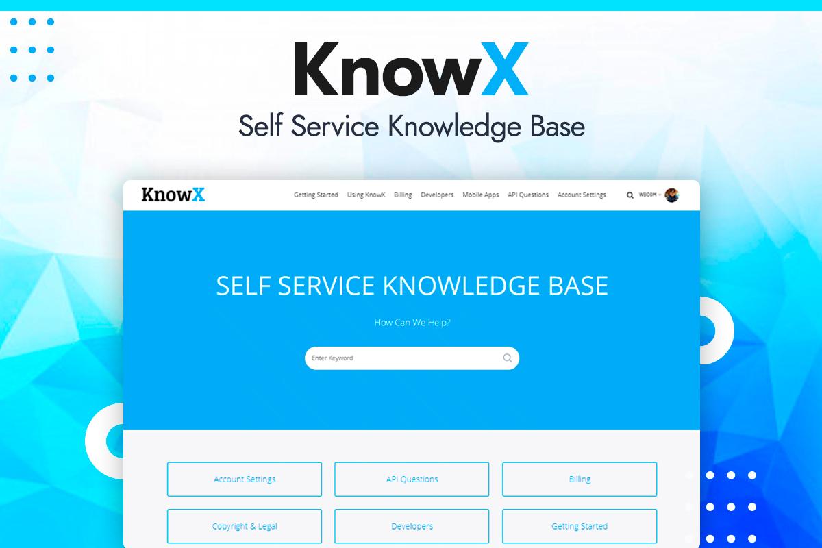 KnowX - Wbcom Designs
