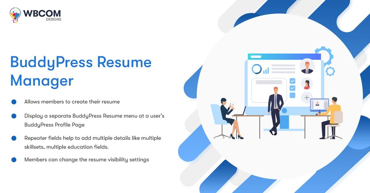BuddyPress Resume Manager