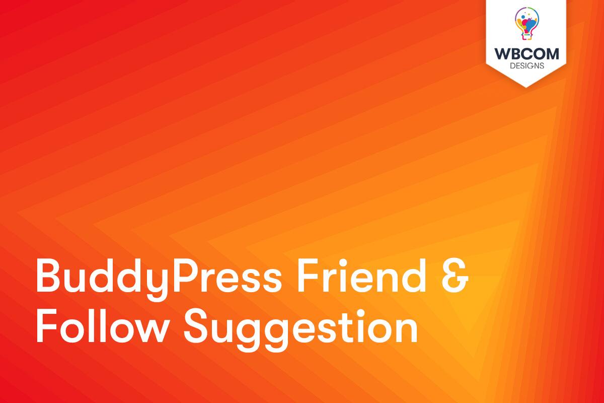 BuddyPress follow button
