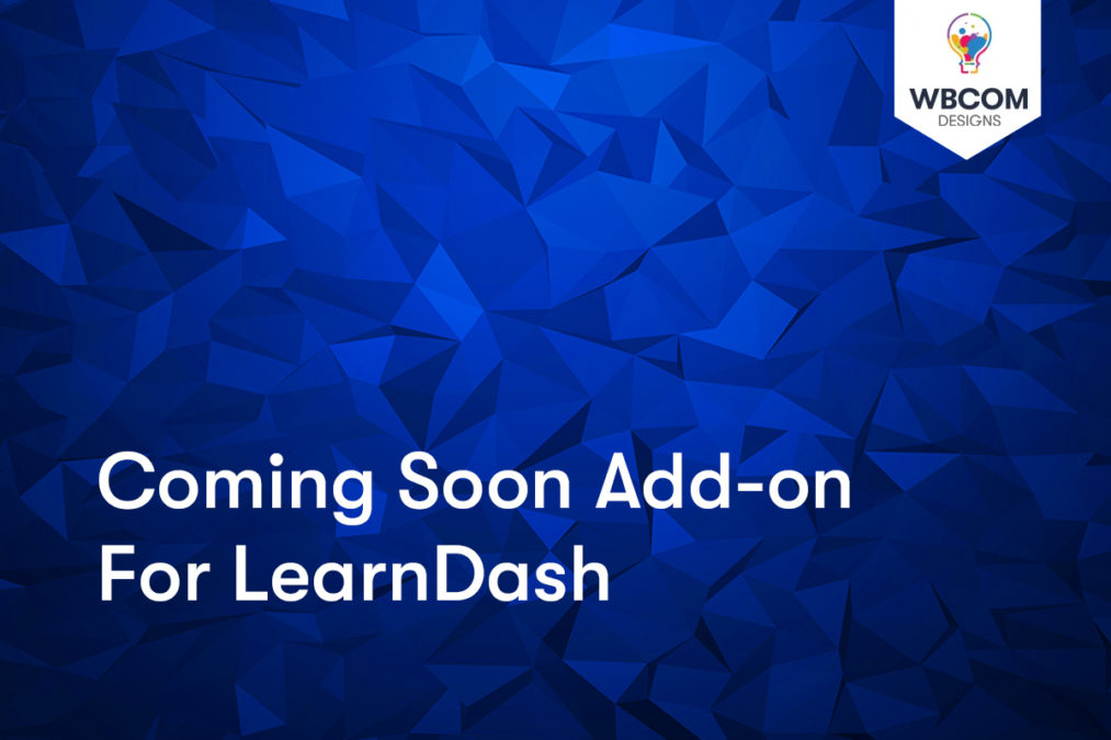 Coming Soon Add-on for LearnDash